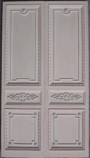 Petit Trianon,Porte Salle à Manger,Maison de Poupées,Miniatures
