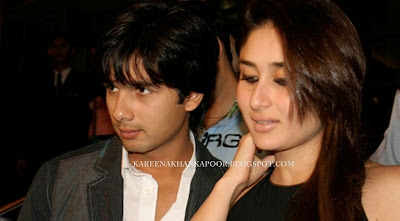 KAREENA KAPOOR KHAN with SHAHID KAPOOR