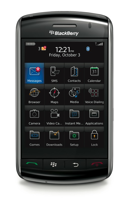 BlackBerry Storm OS Update Released Here s How To Get It