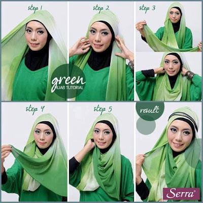 Tutorial Hijab Pesta Terbaru Yang Simple