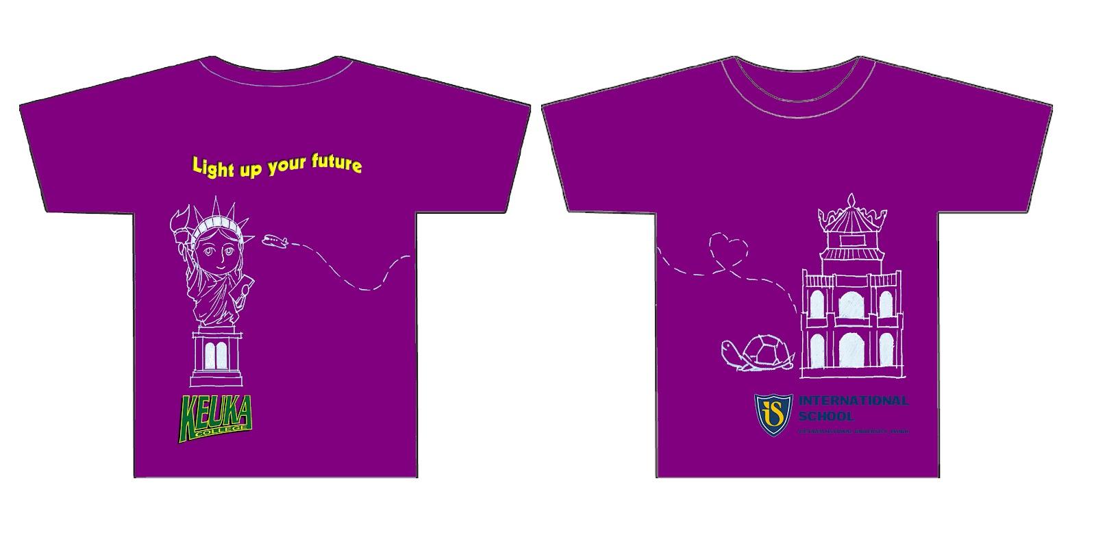 Design t shirt class - Class A