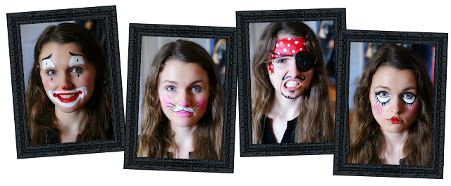 Four Easy Halloween Face Painting Tutorials for Kids and Adults - How to Face Paint for Halloween