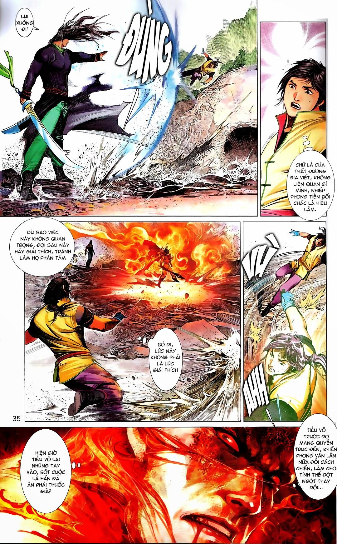 Phong Vân chap 669 Trang 35 - Mangak.info