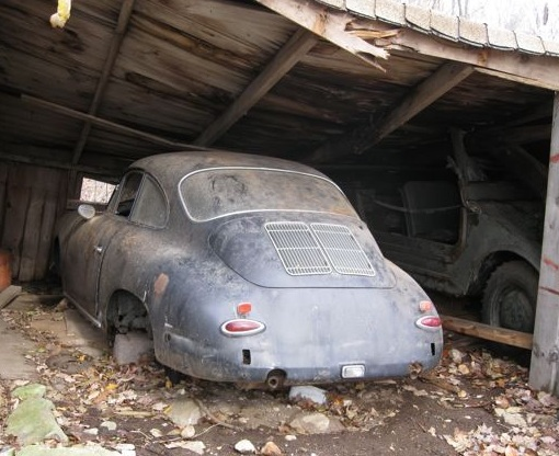 EBay Watch Porsche 356 Barn Find