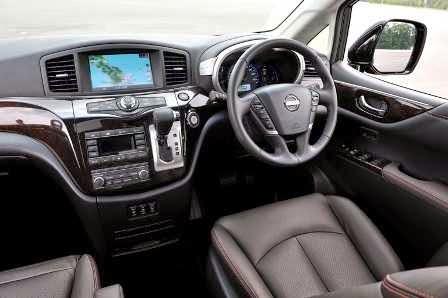 Gambar Dashboard Nissan Elgrand Vers