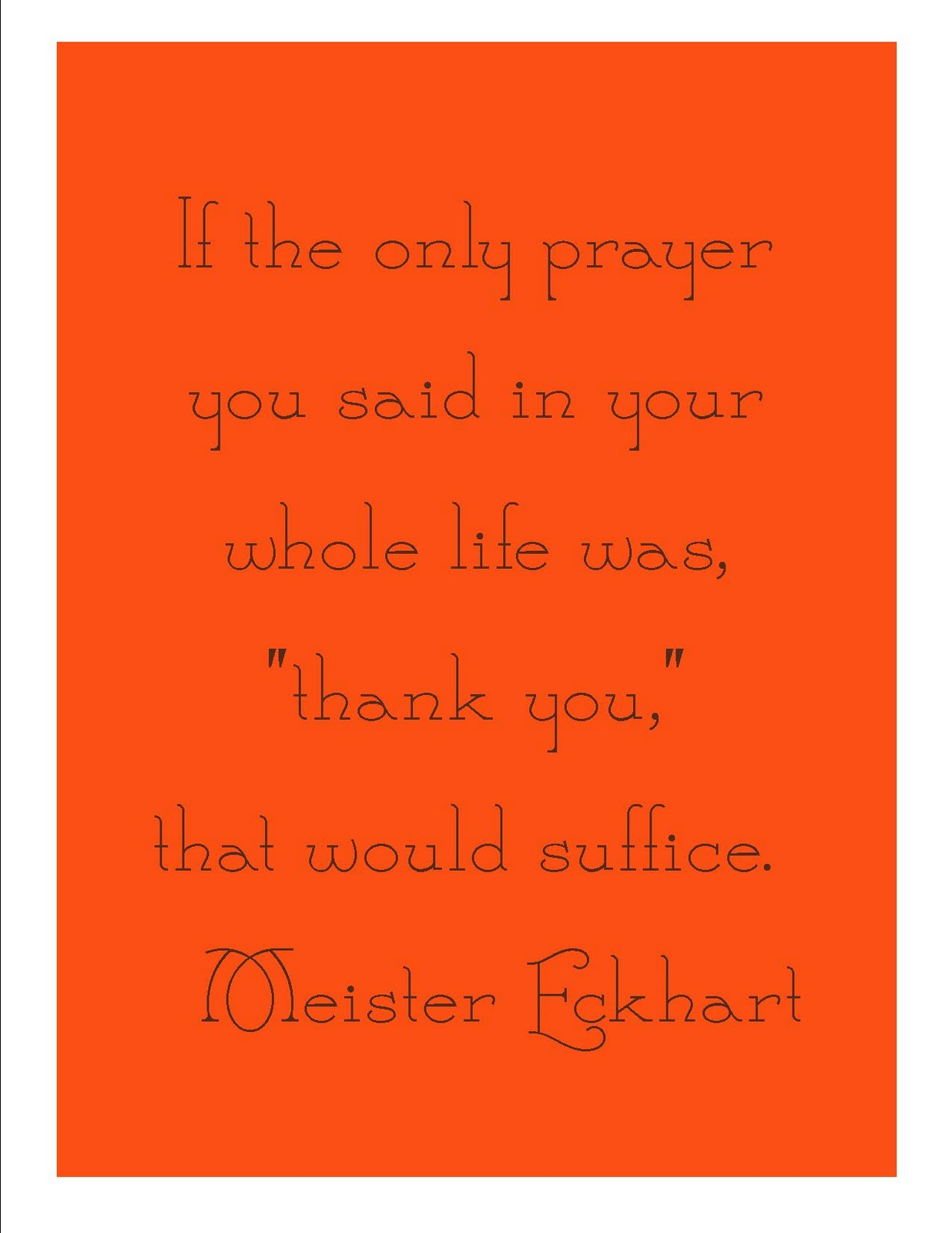 picture about I Said a Prayer for You Today Printable referred to as A Thanksgiving Quotation with Totally free Printable - Naked Ft upon the