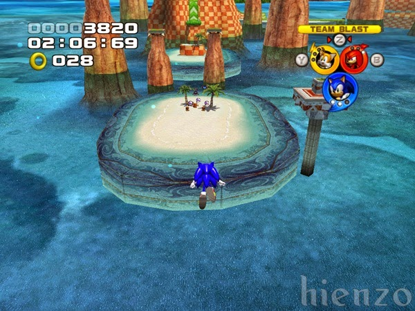 Sonic Heroes Gameplay (PC)