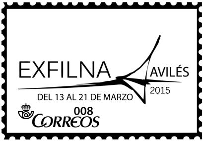 Matasellos General de la EXFILNA 2015