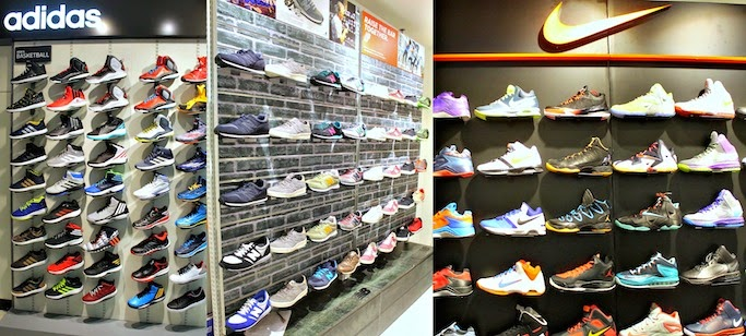 nike shoes display acrylic in divisoria philippines mall 884021