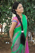 Actress Anjali Rao in Half Saree-thumbnail-4