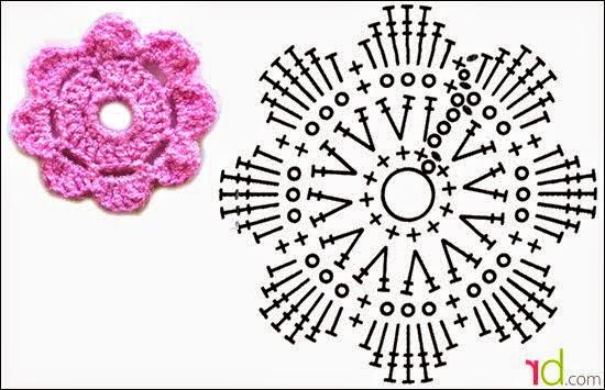 Связать цветочек просто