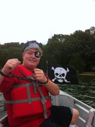 """Pirate """"K"""" really gets into the spirit of the hunt"""