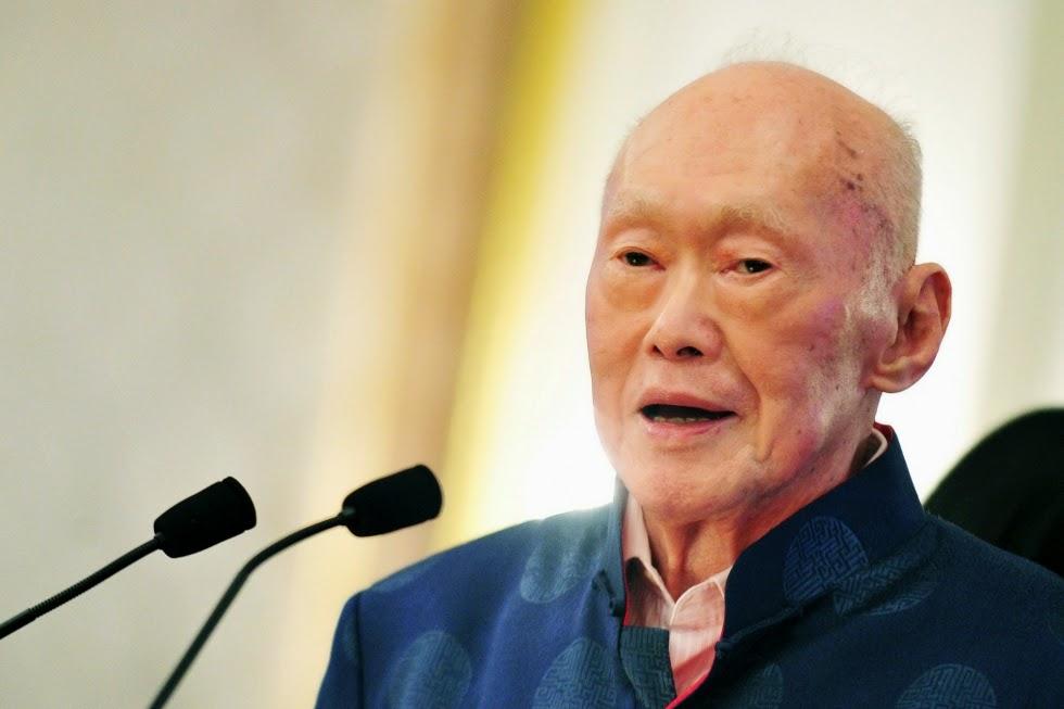 Lee Kuan Yew Meninggal Dunia