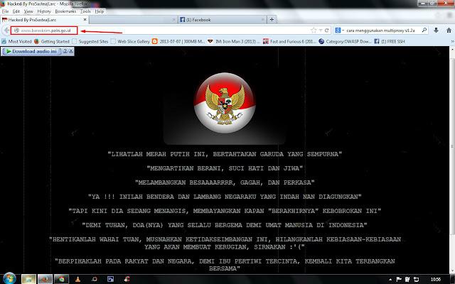 Situs Resmi Bareskrim Polri Kena Hack