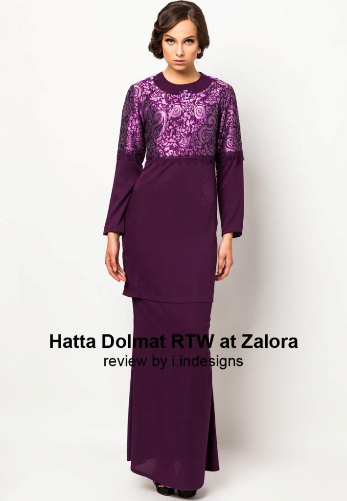 Baju Hari Raya Collection by Hatta Dolmat RTW - We Were Inspired ...