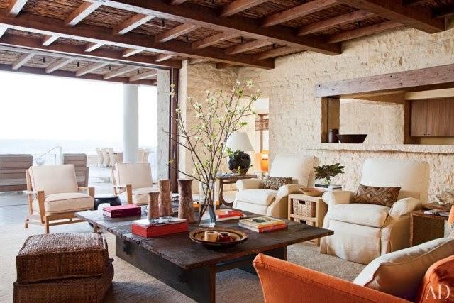 Estilo y hogar: decoración casa rústica.