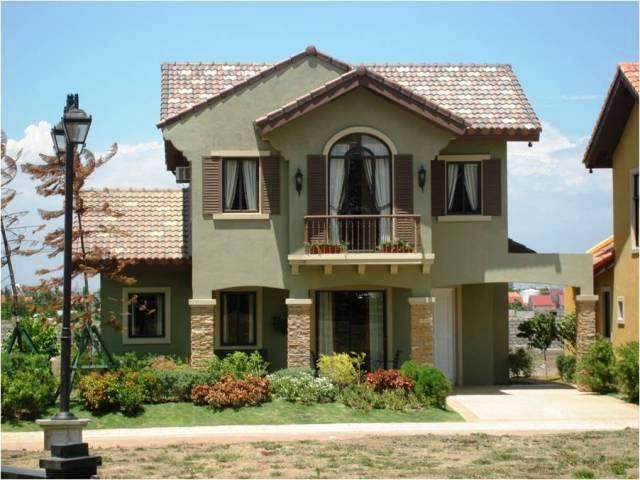 Fachadas de casas con jardin tattoo design bild - Jardines pequenos de casas ...