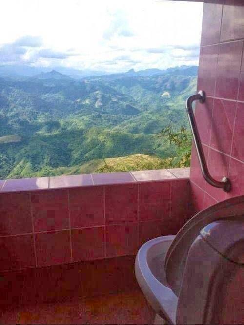 Para ir al baño y reflexionar