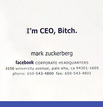 business cards of famous people | fitness, technology, business ... - Designer Gerat Smiirl Facebook Fans