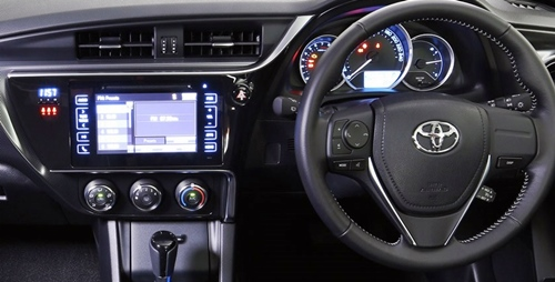 Toyota Corolla Sx Hatch Ink Best Interior 2016 Toyota Update Review