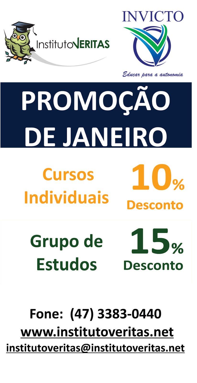 Promoção de Janeiro
