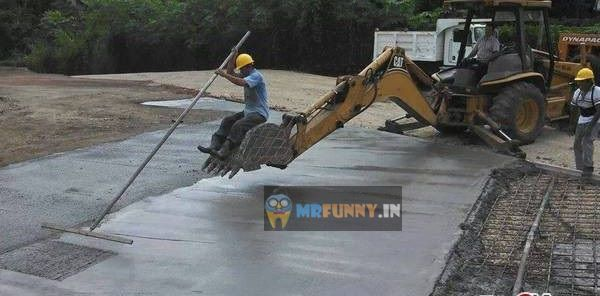 Road Construction Jugaad