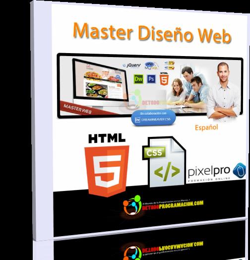 Videocurso Master en Diseño Web – PixelPro