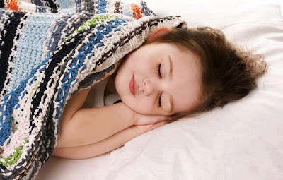 cute baby girl child sleeping  picture