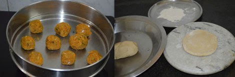 how to make vegetable paratha