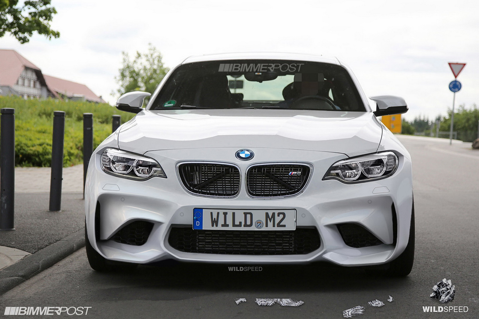 Fans Digitally Remove Camo Of A Bmw M2 Coupe Prototype Looks Like The Real Thing Carscoops