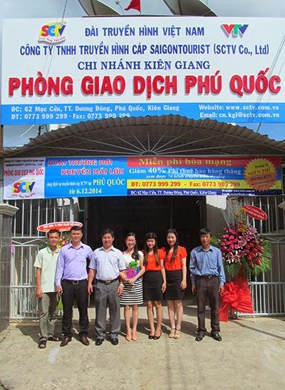 SCTV khai trương phòng giao dịch Phú Quốc