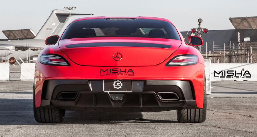ミーシャデザイン メルセデスベンツSLS AMG カスタム