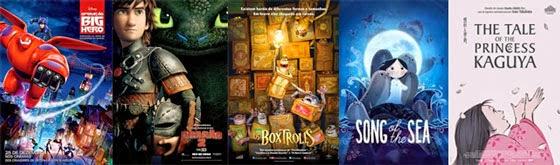 Melhor Longa em Animação - Oscar 2015