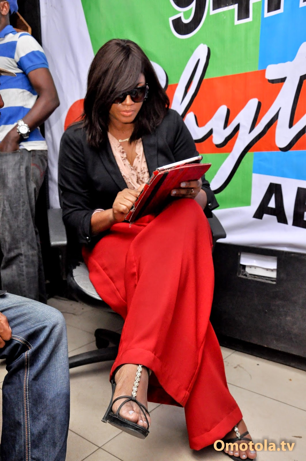 omotola at 20 tour