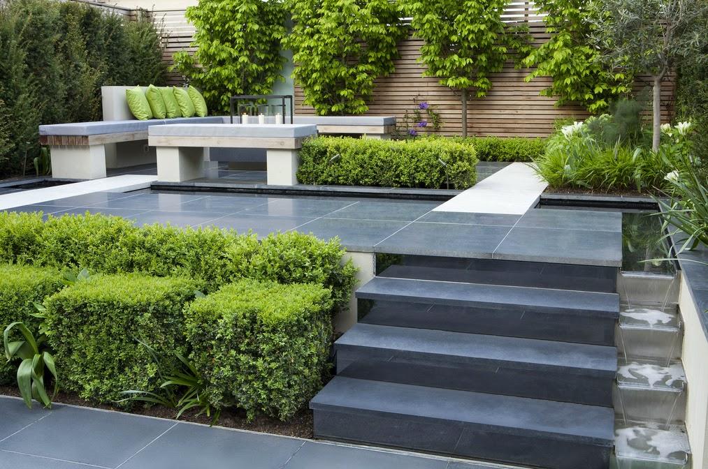 Korzen is in the garden charlotte rowe garden design london for Jardin 2 niveaux