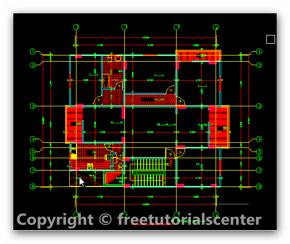 Free autocad house plan files home design and style for House plan cad file