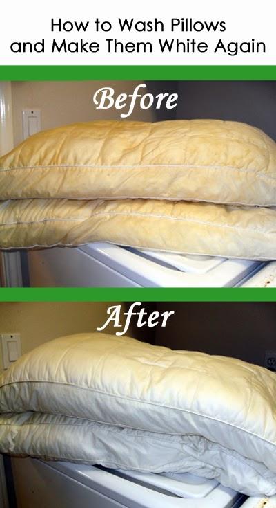 Las brujas blancas limpieza de sus almohadas - Como lavar almohadas ...