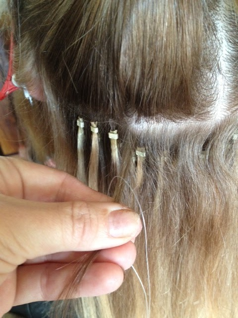 Glam Tips How To Apply Micro Hair Extensions