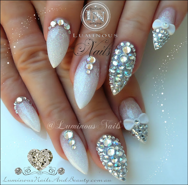 luminous nails february 2014