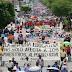 CNTE obstruye vialidades en Oaxaca