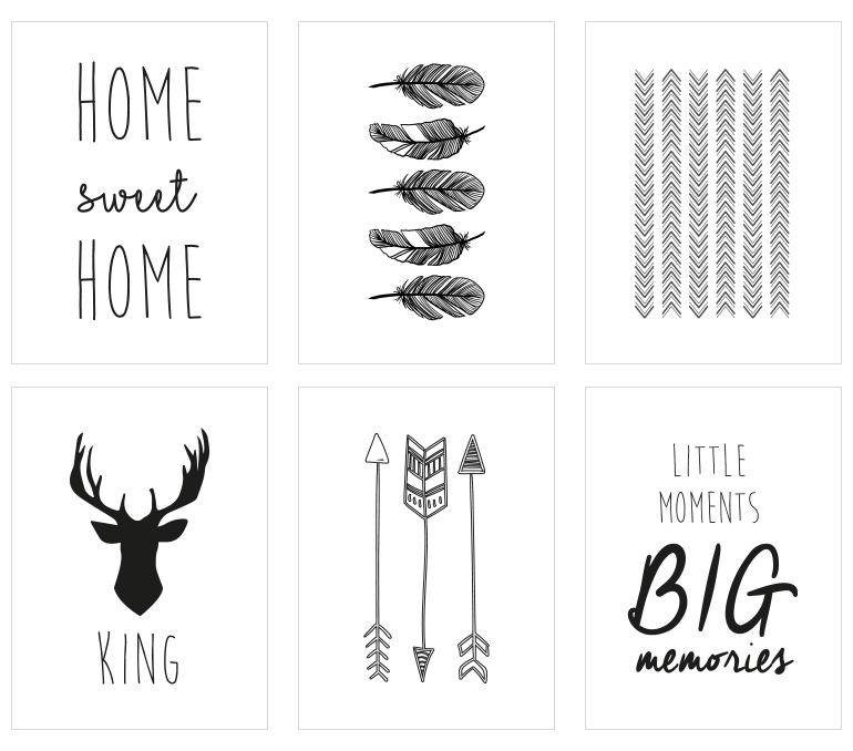mes petites tambouilles d co diy 3 cadres scandinaves free printable. Black Bedroom Furniture Sets. Home Design Ideas