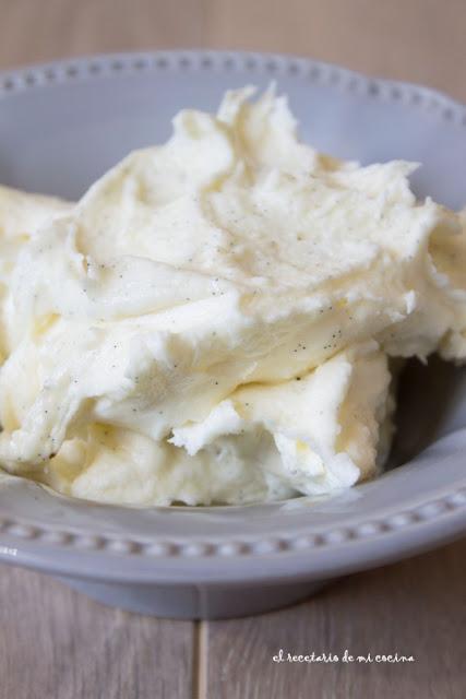 buttercream de vainilla