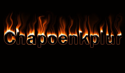 Cara Membuat Efek Tulisan Terbakar Api Di Photoshop