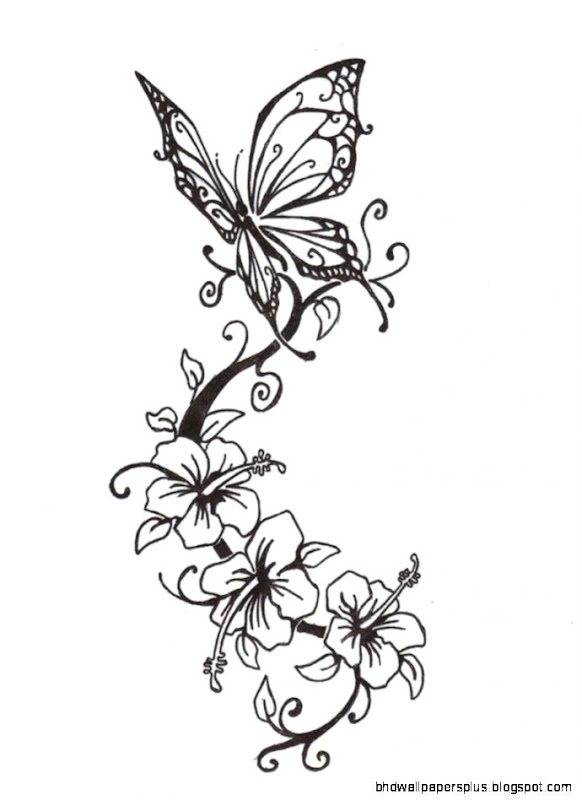 Flower Designs Drawings For Tattoos   Gallery