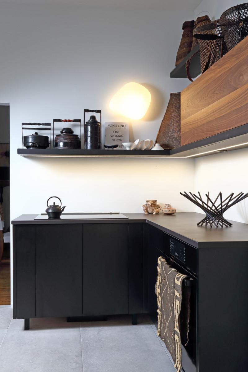 Atelier rue verte , le blog: canada / une cuisine noire comme un ...