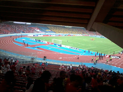 Piala Sumbangsih di Stadium Bukit Jalil 2012