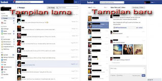 Tampilan Baru Facebook Messages