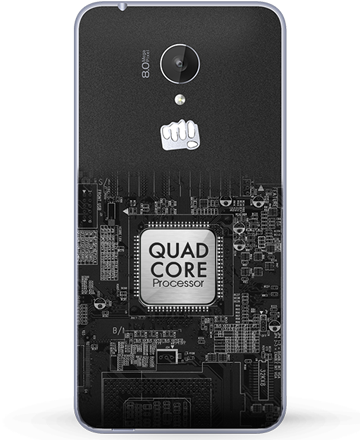 Powerful Quad Core Processor