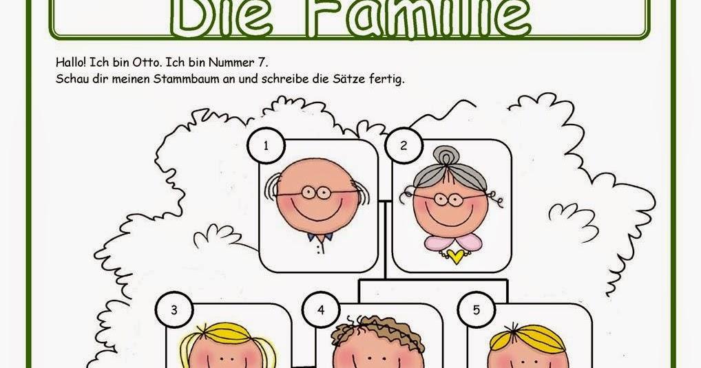 Deutsch mit Anna :): 2. Klasse: Arbeitsblätter zum Thema \