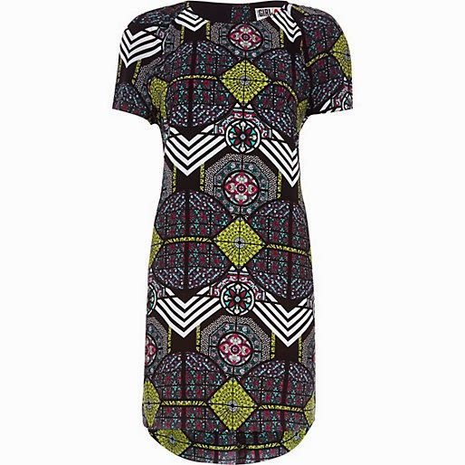 chelsea girl print dress